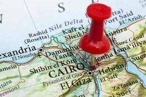 Kairo Karte, Ägypten