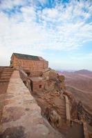 Kapelle auf dem Berg Sinai foto
