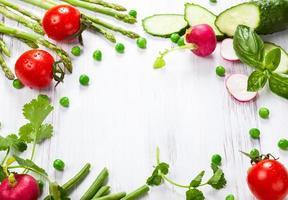 frisches Gemüse foto