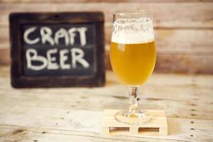 Handgemachtes Bier foto