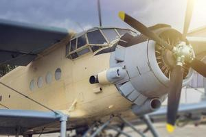 Vintage Flugzeug foto