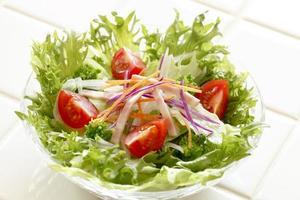 frischer Salat foto