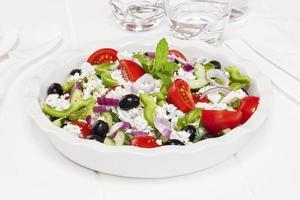 griechischer Salat foto