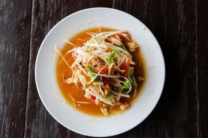 thailändischer Salat foto
