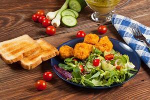 gemischter Salat. foto