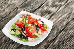 Salat, Essen, Zwiebel foto