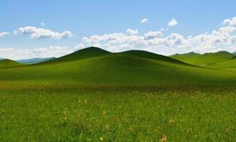 Landschaft mit Wolkenlandschaft