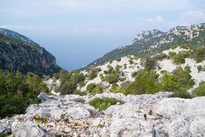 Landschaft in Sardinien foto