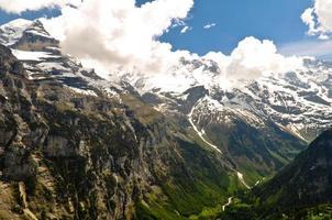 schöne alpenlandschaft