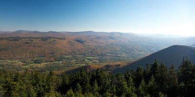 Landschaft von Berkshires foto