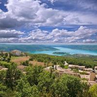 Landschaft der Provence.