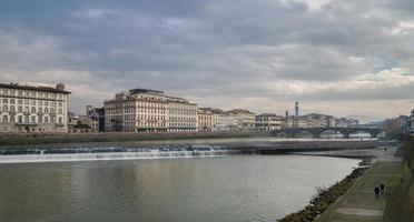Landschaft von Florenz foto