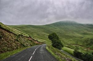 Pyrenäen Gebirgslandschaft foto