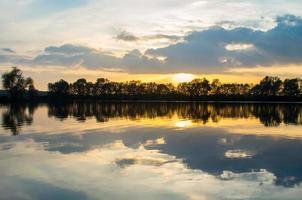 waldgrüne Landschaften foto