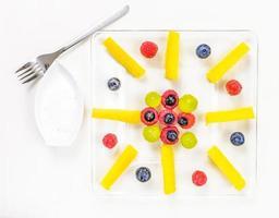 Auswahl an exotischen Früchten