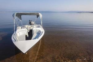 Skiboot Wasserlandschaft foto