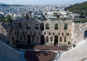 Landschaften des antiken Griechenland foto