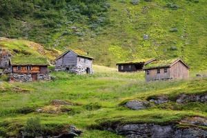 schöne Landschaft von Norwegen, Skandinavien foto