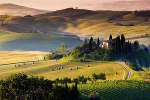 die toskanische Landschaft