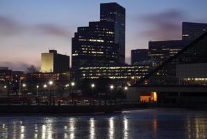 am frühen Morgen in Cleveland