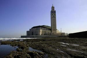 Moschee Hassan II in Casablanca foto