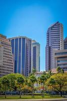 Finanzbezirk von Honolulu foto