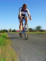Rennradfahren foto