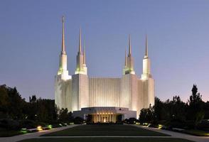 Washington DC Mormonentempel foto