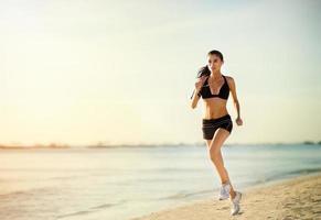 rennende Frau