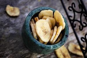 getrocknete Bananenfrucht