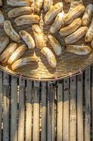 sonnengetrocknete Banane