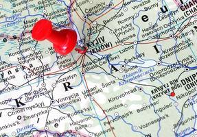 Kiew Karte