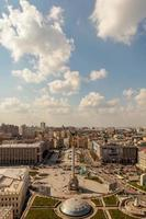 Maidan Nezalezhnost zentralen Platz von Kiew foto