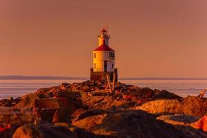 Lake Superior Leuchtturm foto
