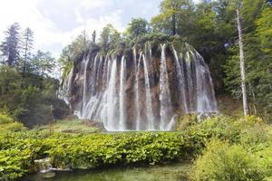Plitvice Seen Wasserfall foto