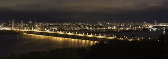Patona Bridge Nacht foto