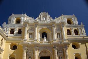 Kirche in Antigua, Guatemala foto