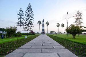 Leuchtturm in Peru foto