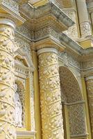 Kirchenfassade in Antigua, Guatemala foto