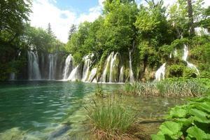 Plitvice Seen, Kroatien, Europa foto