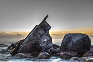 Schiffswrackküste foto