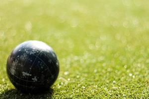Ball auf Grün foto