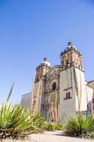catedral de oaxaca, méxico foto