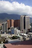 Skyline und Gebäude von Caracas foto