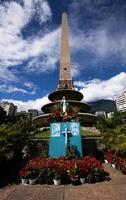 virgen en la plaza francia, caracas. foto