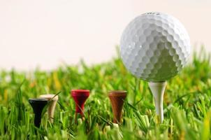 Golfball. foto