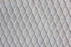 Nahaufnahmefoto, abstrakter Hintergrund, Moskitonetze der metallischen Struktur foto