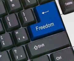 Schlüssel für die Freiheit foto