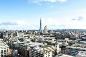 Stadt London Blick von st. Pauls Kathedrale foto