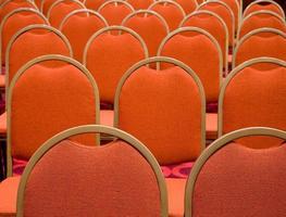 Sitzreihen foto